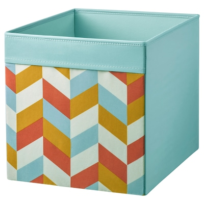 DRÖNA box multicolour 33 cm 38 cm 33 cm