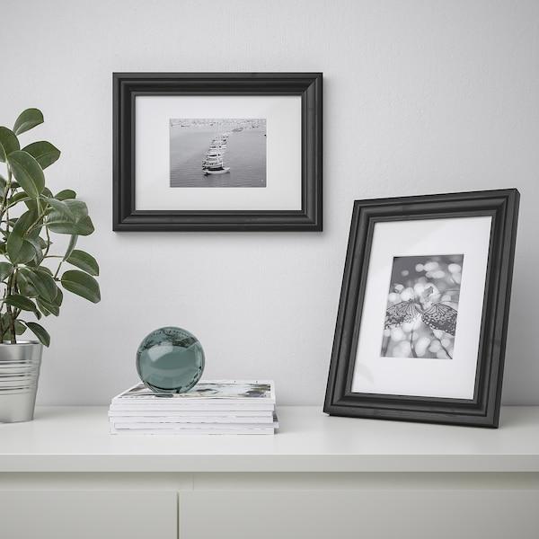 EDSBRUK Frame, black stained, 21x30 cm