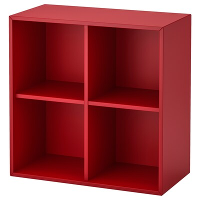 EKET cabinet with 4 compartments red 70 cm 35 cm 70 cm 7 kg