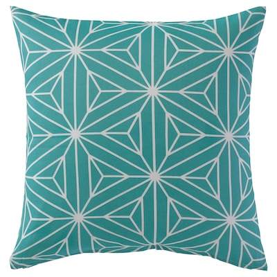 EKLAVMAL Cushion cover, green, 50x50 cm