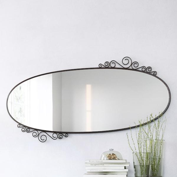 EKNE Mirror, oval, 70x150 cm