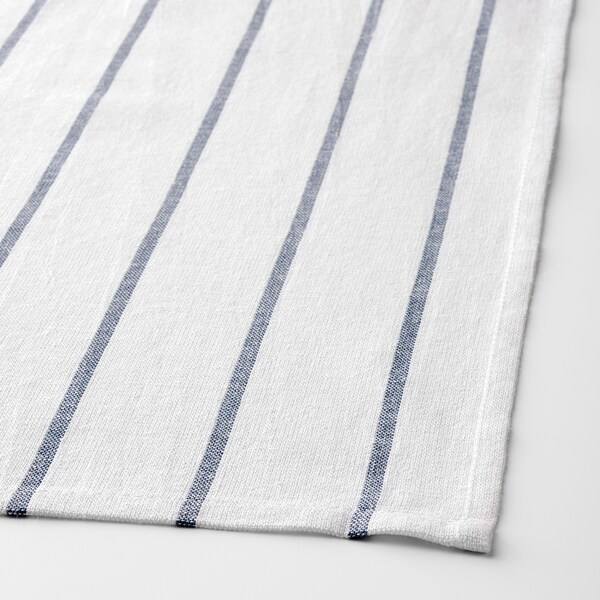 ELLY tea towel white/blue 65 cm 50 cm 4 pack