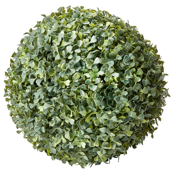 FEJKA artificial plant in/outdoor/Box ball shaped 35 cm