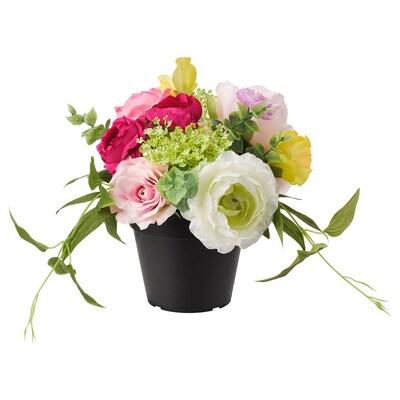 FEJKA artificial potted plant in/outdoor arrangement 12 cm 24 cm