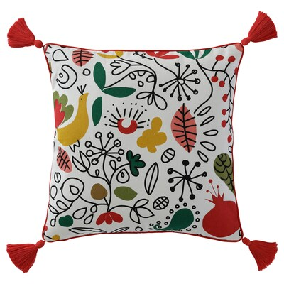 FINSLIPAD Cushion cover, multicolour, 50x50 cm