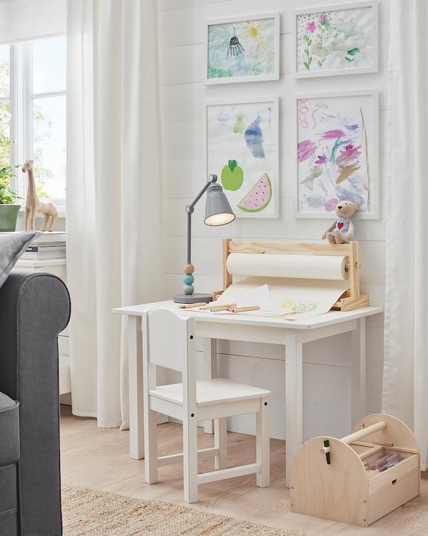 FISKBO Frame, white, 21x30 cm