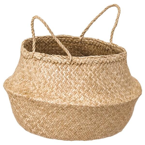 Basket FLÅDIS seagrass