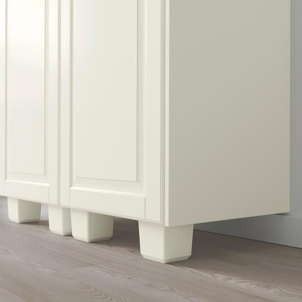 FÖRBÄTTRA Leg, off-white, 8 cm