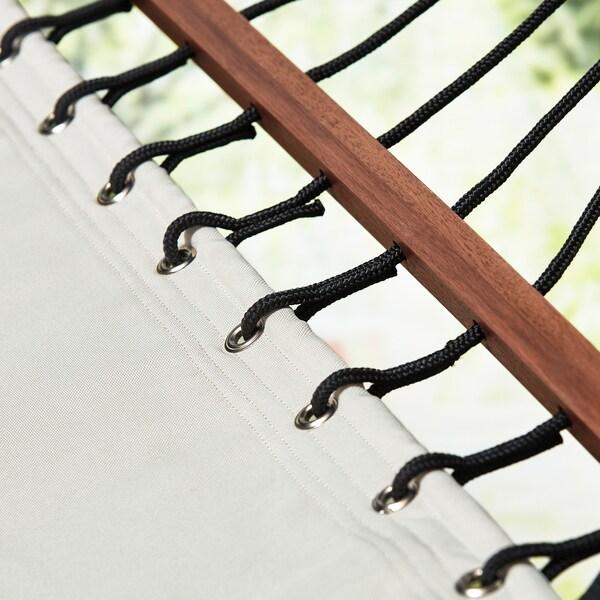 FREDÖN hammock beige 200 cm 100 cm 120 kg