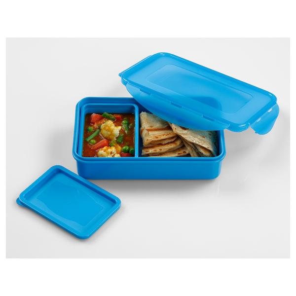 FULLASTAD Lunch box, blue, 20x13x5 cm