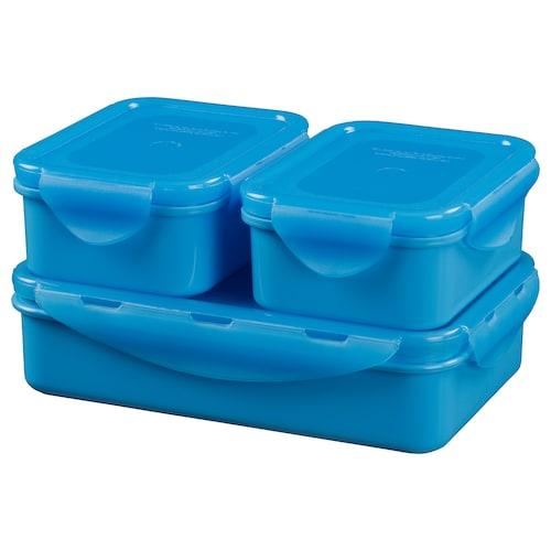 IKEA FULLASTAD Lunch box, set of 3
