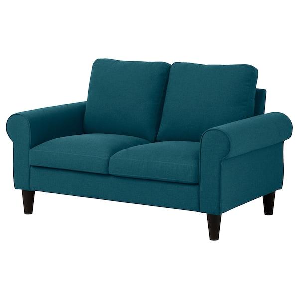 GAMMALBYN 2-seat sofa, blue/green
