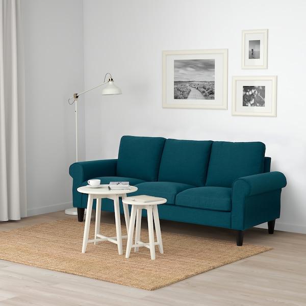 GAMMALBYN 3-seat sofa, blue