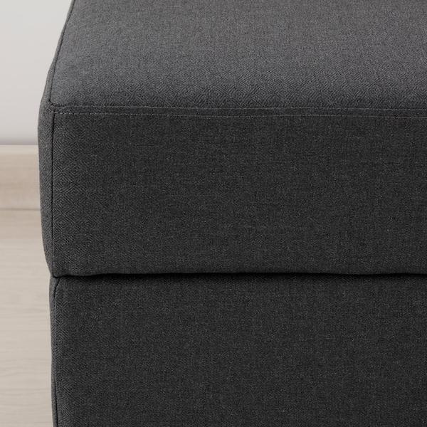 GAMMALBYN Footstool, grey