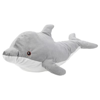 GENOMBLÖT soft toy dolphin 70 cm 31 cm