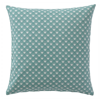 GRÅDRABA Cushion cover, green, 50x50 cm