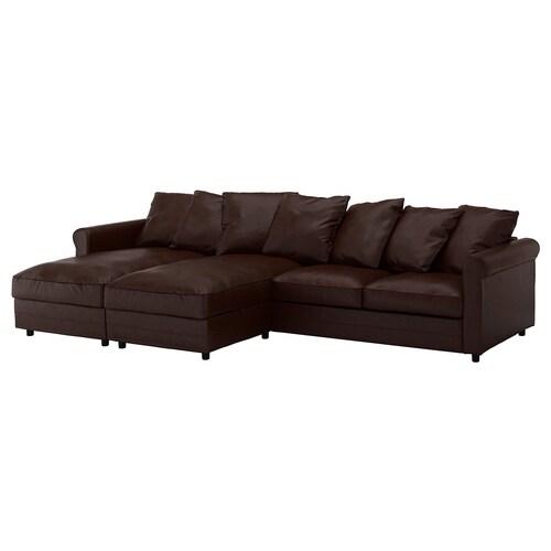 Sofa Chaise Longue Ikea.Leather Coated Fabric Sofas With Chaise Longues Ikea