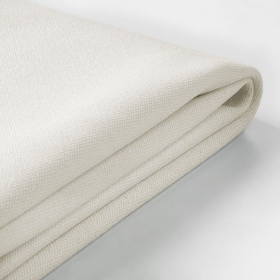 GRÖNLID Cover for footstool, Inseros white