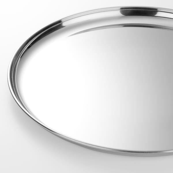 GULKREMLA plate stainless steel 28 cm