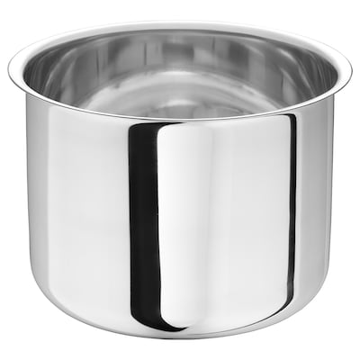 GULKREMLA Pot, stainless steel, 3.5 l