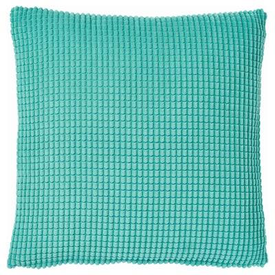 GULLKLOCKA Cushion cover, turquoise, 50x50 cm