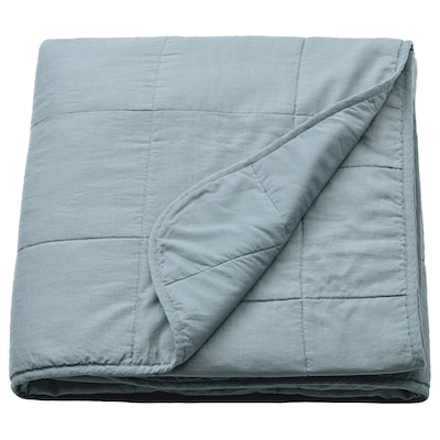 GULVED Bedspread, green, 260x250 cm