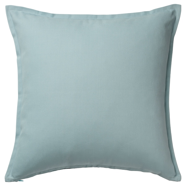 GURLI Cushion cover, pale blue, 50x50 cm