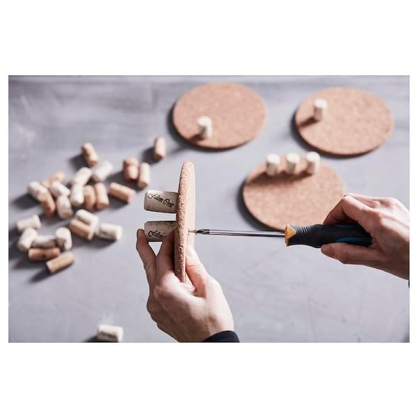 HEAT Pot stand, cork, 19 cm