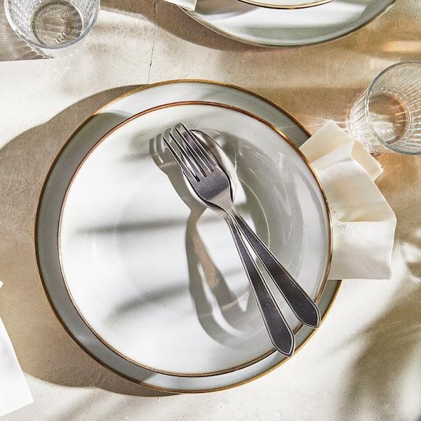 IDENTITET 12-piece cutlery set, stainless steel