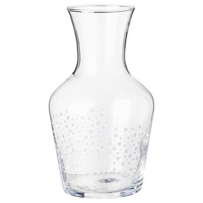 INBJUDEN Carafe, clear glass, 1.0 l