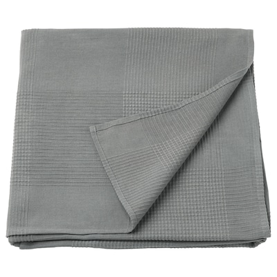 INDIRA Bedspread, grey, 230x250 cm