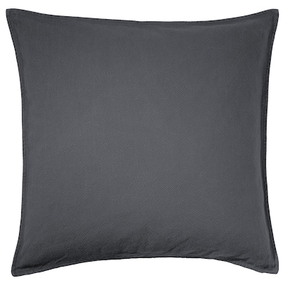 JOFRID cushion cover dark blue-grey 65 cm 65 cm