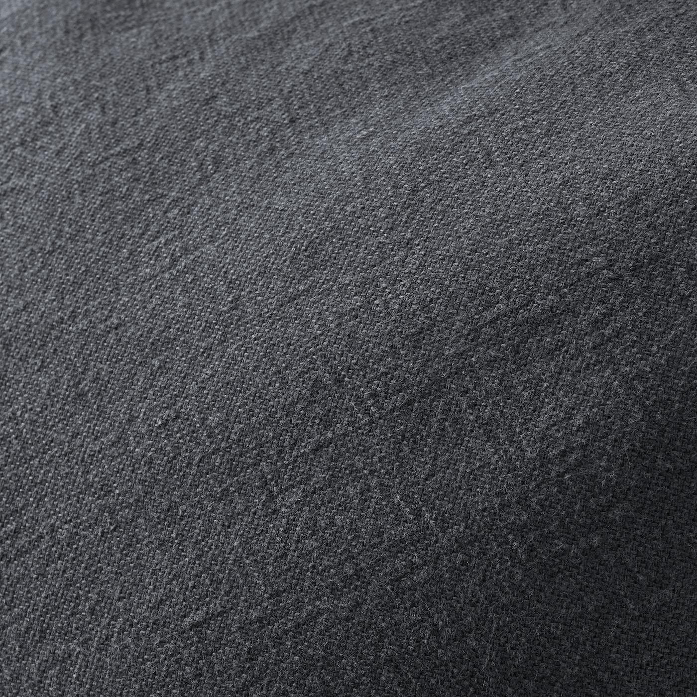 JOFRID cushion cover dark blue-grey 65 cm 65 cm