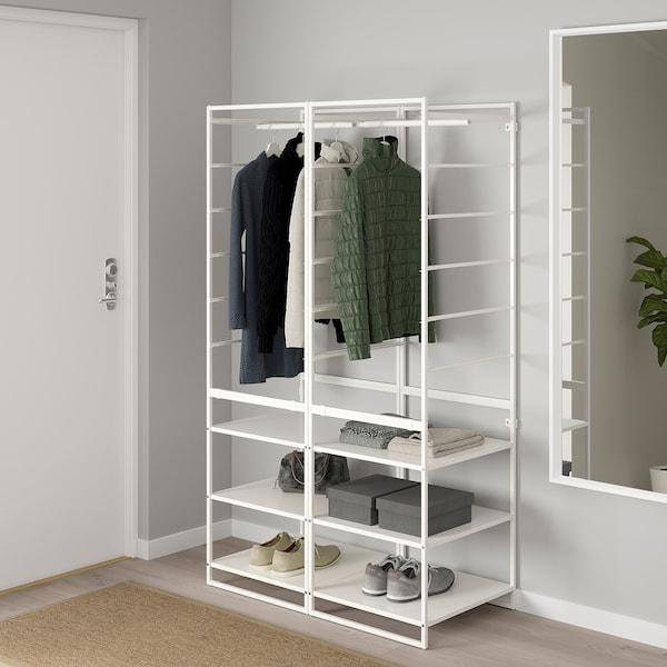JONAXEL shelving unit with clothes rail 99 cm 51 cm 173 cm