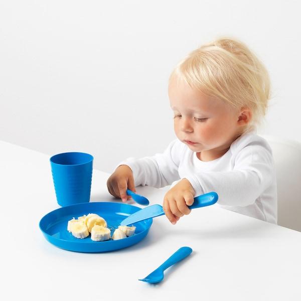 KALAS 18-piece cutlery set, multicolour