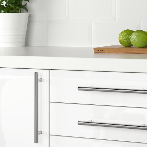 KALLRÖR Handle, stainless steel, 213 mm