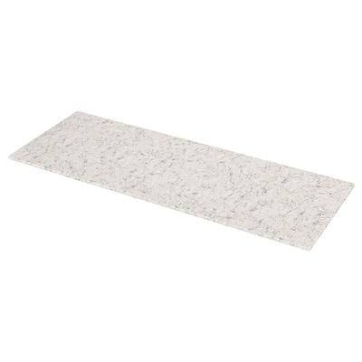 KASKER Custom made worktop, light beige/grey marble effect/quartz, 1 m²x2.0 cm