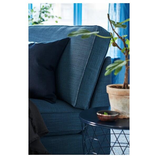 KIVIK Chaise longue, Hillared dark blue