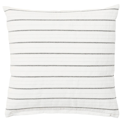KONSTANSE cushion white/dark grey 40 cm 40 cm 250 g 375 g