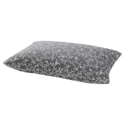 KOPPARRANKA Pillowcase, floral patterned, 50x80 cm