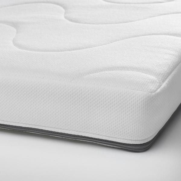 KRUMMELUR Foam mattress for cot, 60x120x8 cm