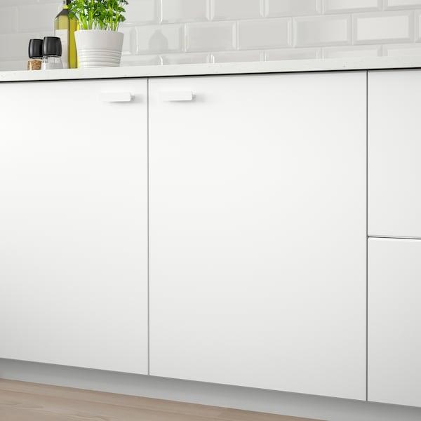 KUNGSBACKA Door, matt white, 30x70 cm
