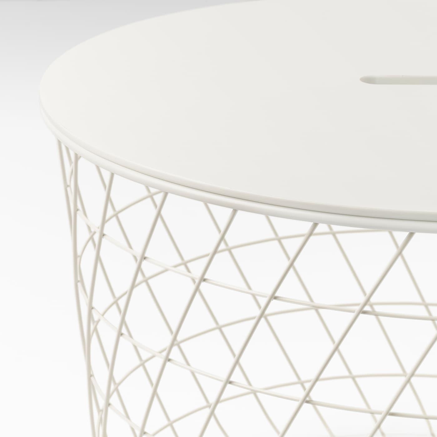 Picture of: Kvistbro Storage Table White 61 Cm Ikea