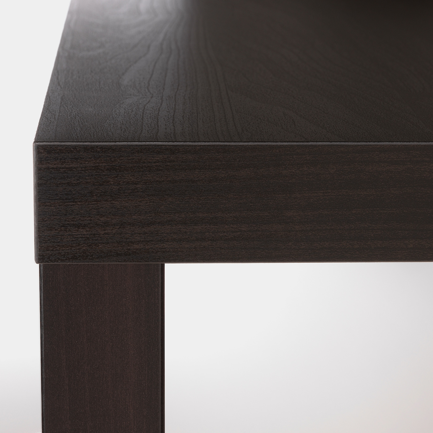 Lack Side Table Black Brown 55x55 Cm Ikea [ 1400 x 1400 Pixel ]