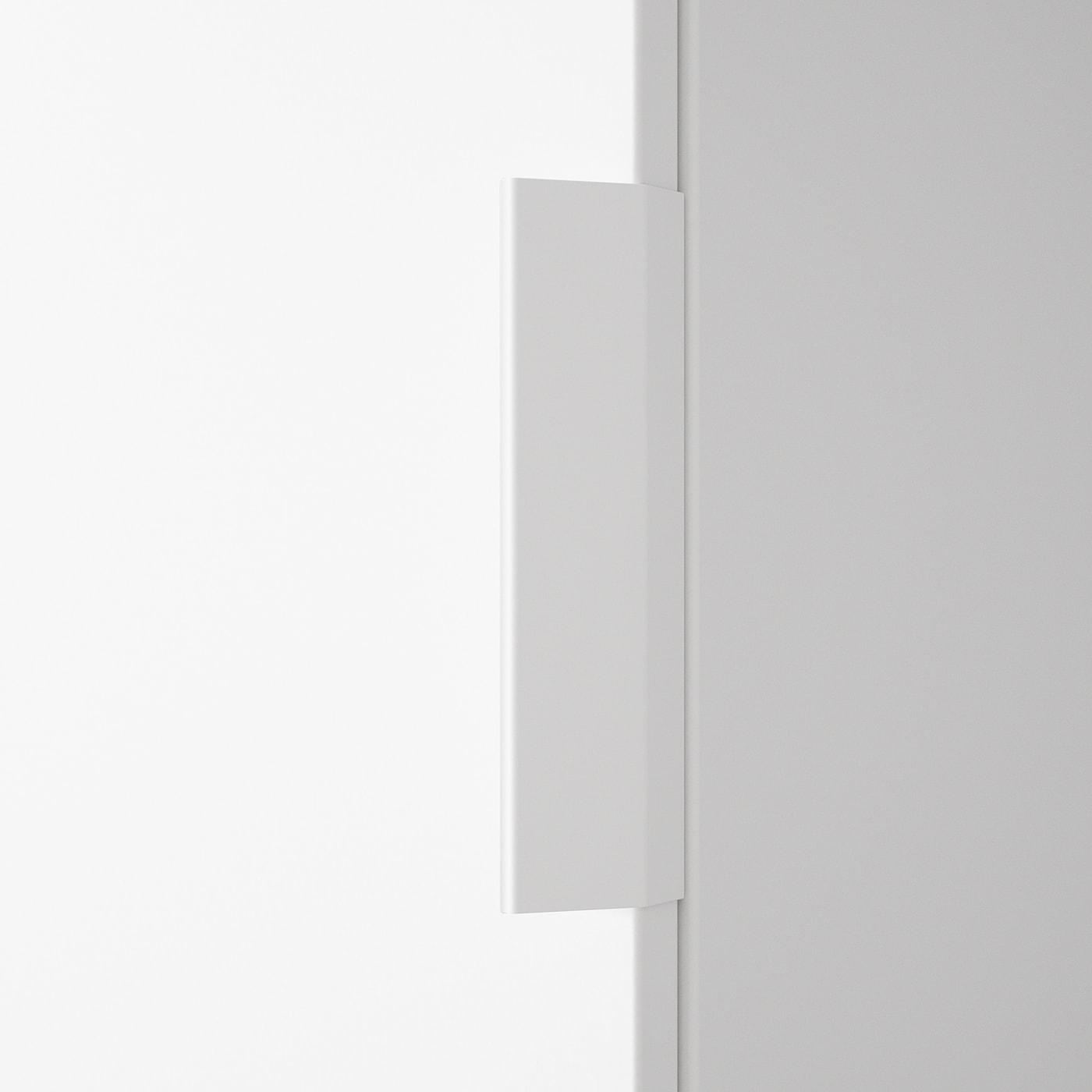 LÄTTHET Handle, white, 13 cm