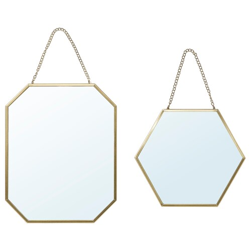 IKEA LASSBYN Mirror, set of 2