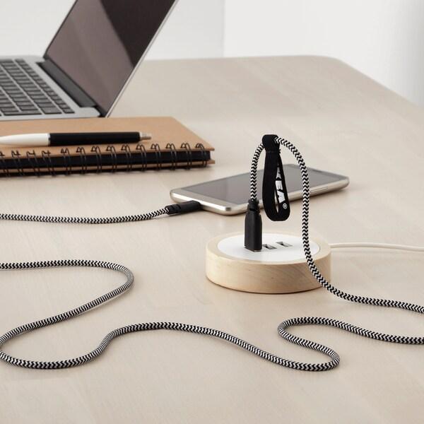 LILLHULT micro-USB to USB cord 1.50 m