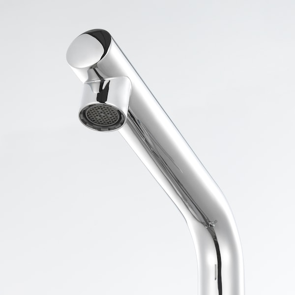 LUNDSKÄR Wash-basin mixer tap with strainer, chrome-plated
