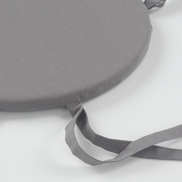 LYNNI chair pad grey 30 cm