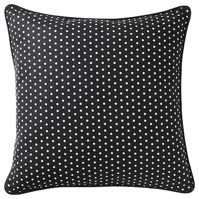 MALINMARIA cushion dark grey/white dotted 40 cm 40 cm 250 g 380 g